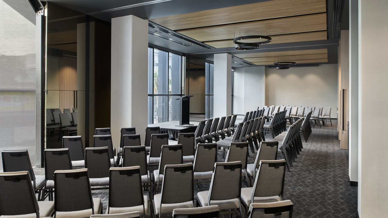 Docklands Meeting Room - Theatre